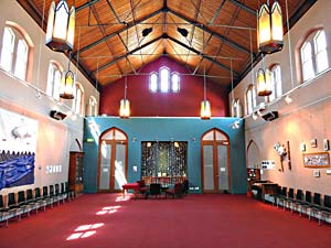 Room hire Augustine Hall Habitat Uniting Church Hawthorn